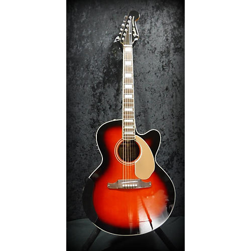 used fender kingman jumbo sce acoustic electric guitar guitar center. Black Bedroom Furniture Sets. Home Design Ideas