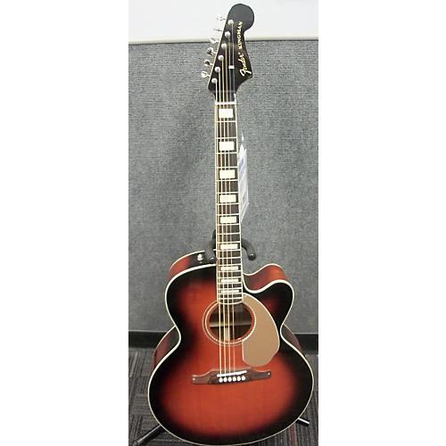 Fender Kingman Sce Junbo 3ts Acoustic Electric Guitar-thumbnail