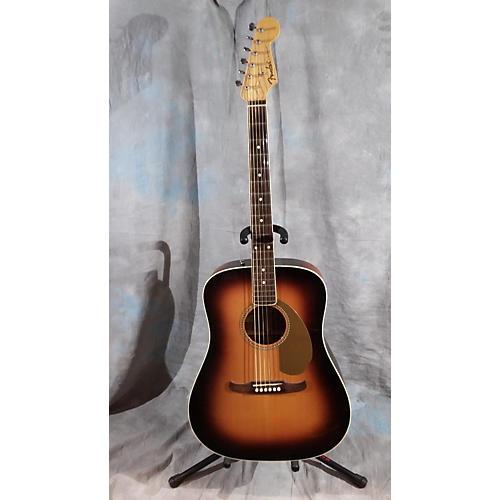 Fender Kingman V Acoustic Electric Guitar 2 Color Sunburst