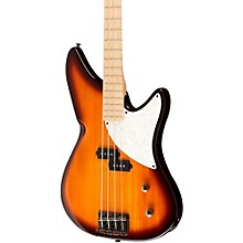Kingston CRB 4-String Electric Bass Guitar Level 1 Transparent Black Rosewood Fingerboard