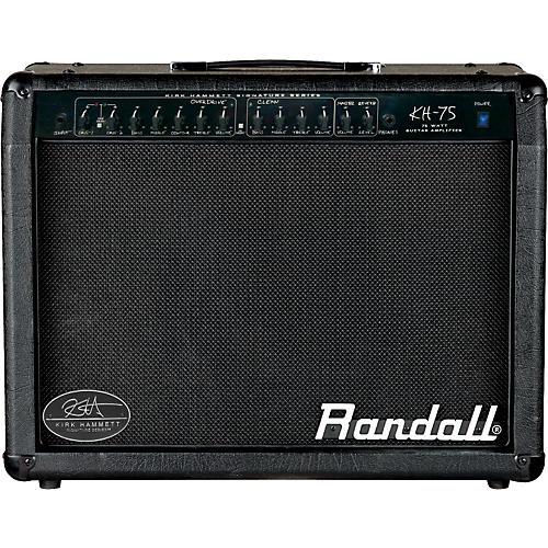 Randall Kirk Hammett KH75 75W 1x12 Guitar Combo Amp Black