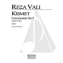 Lauren Keiser Music Publishing Kismet: Calligraphy No. 7 (Flute Trio) LKM Music Series Composed by Reza Vali