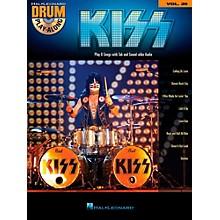 Hal Leonard Kiss - Drum Play-Along Volume 39 (Book/CD)