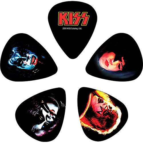 D'Addario Planet Waves Kiss ALIVE II Guitar Picks 10 Pack