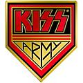 C&D Visionary Kiss Army Heavy Metal Sticker thumbnail