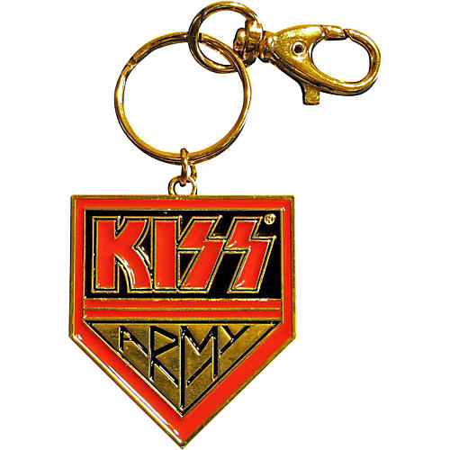 C&D Visionary Kiss Army Metal Keychain-thumbnail
