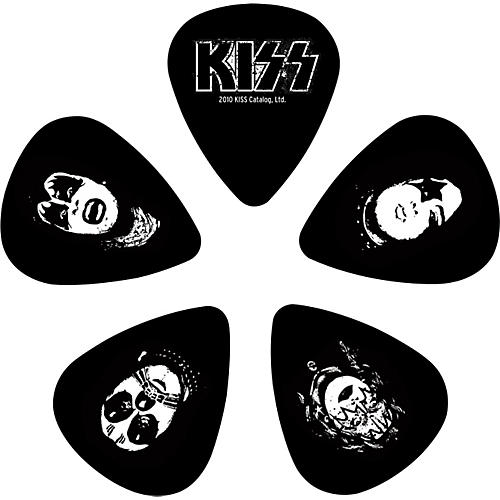 D'Addario Planet Waves Kiss Logo Guitar Picks 10 Pack-thumbnail