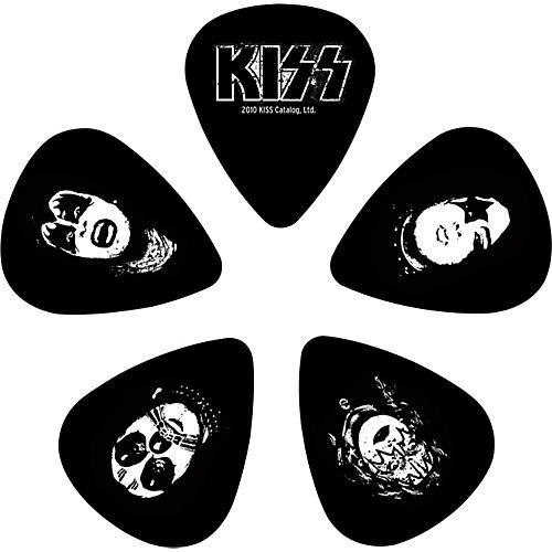 D'Addario Planet Waves Kiss Logo Guitar Picks 10 Pack Medium