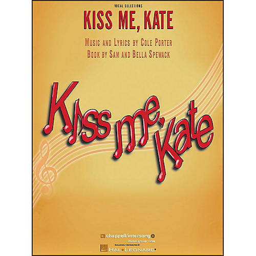 Hal Leonard Kiss Me Kate Vocal Selections arranged for piano, vocal, and guitar (P/V/G)