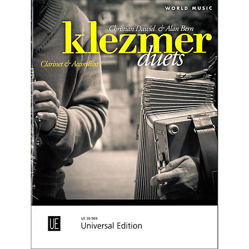 Carl Fischer Klezmer Duets for Clarinet and Accordion-thumbnail