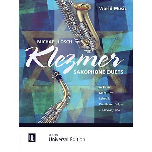 Carl Fischer Klezmer Saxophone Duets (Book + Sheet Music)
