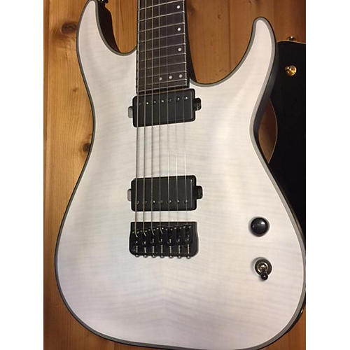 Schecter Guitar Research Km7 Electric Guitar Trans White