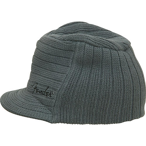 Fender Knit Ribbed Military Hat