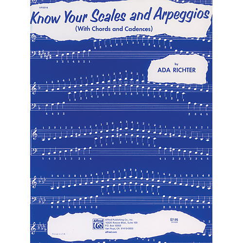 Alfred Know Your Scales and Arpeggios Piano-thumbnail