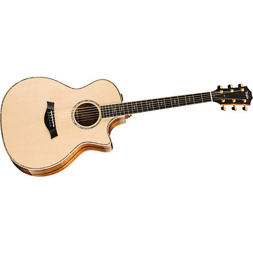 Taylor Koa Series K14ce Grand Auditorium Acoustic-Electric Guitar (2011 Model) Natural