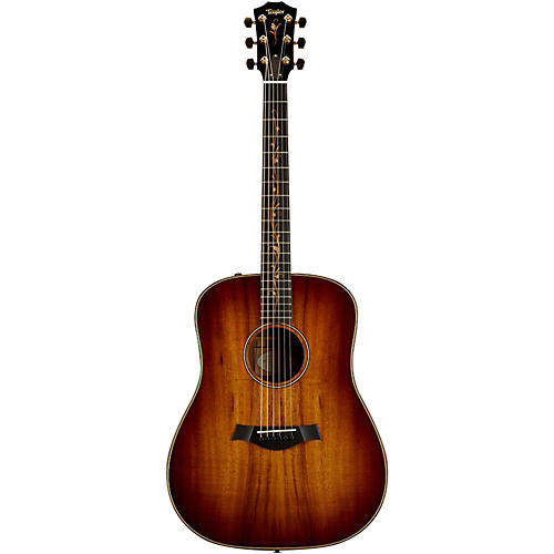 Taylor Koa Series K20e Dreadnought Acoustic-Electric Guitar Shaded Edge Burst