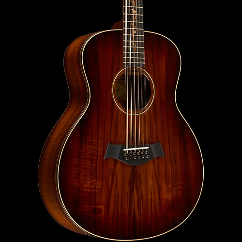 Taylor Koa Series K66 Koa Grand Symphony 12-String Acoustic Guitar Shaded Edge Burst