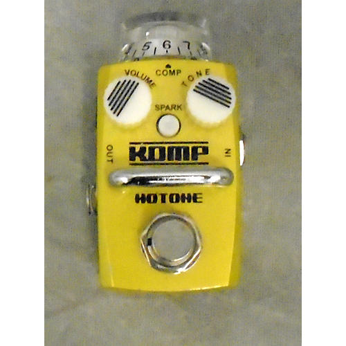 Hotone Effects Komp Opto Compressor Skyline Series Effect Pedal