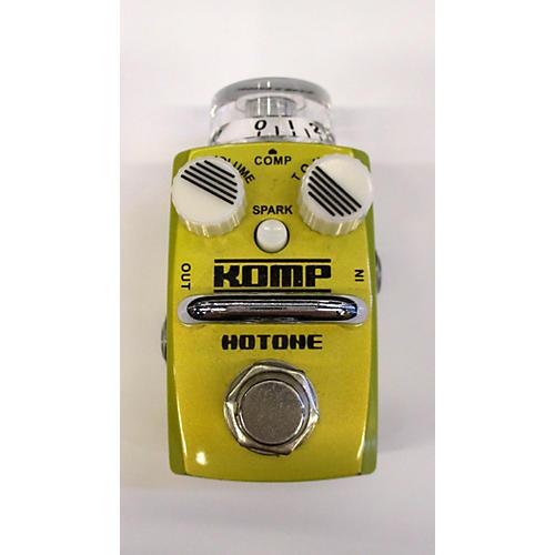 Hotone Effects Komp Opto Compressor Skyline Series Effect Pedal-thumbnail