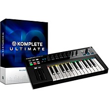 Native Instruments Komplete 10 Ultimate and Kontrol S25 Keyboard Bundle