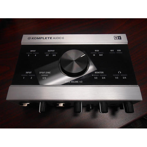 Native Instruments Komplete Audio 6 Channel Audio Interface