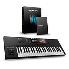 Native Instruments Komplete Kontrol S49 MKII with Komplete 11 Ultimate