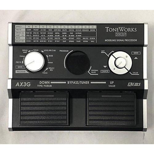 used toneworks korg ax3g effect processor guitar center. Black Bedroom Furniture Sets. Home Design Ideas