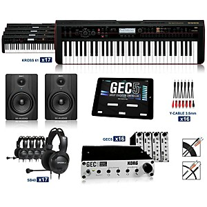 Korg Korg Kross 61 Keyboard Lab 16 Students plus Teacher