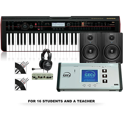 Korg Korg Kross 61 Keyboard Lab for 16 students and 1 teacher