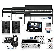 Korg Korg LP180BK - 88 Key Digital Piano Lab (16 Students plus Teacher)