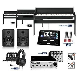 Korg Korg LP180BK - 88 Key Digital Piano Lab 16 Students plus Teacher