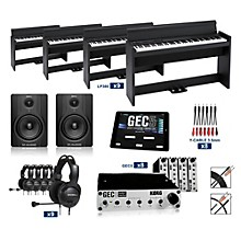 Korg Korg LP380SBK - 88 Key Digital Piano Lab (8 Students plus Teacher)