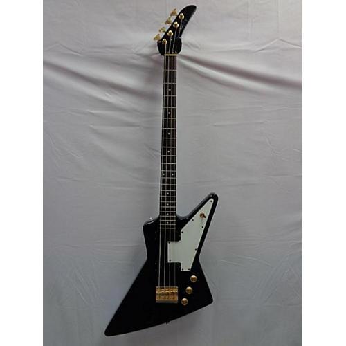 Epiphone Korina Explorer 4-String Electric Bass Guitar-thumbnail