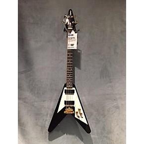 used epiphone korina flying v electric bass guitar guitar center. Black Bedroom Furniture Sets. Home Design Ideas