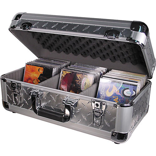 Odyssey Krom 200/65 CD Case Diamond Plate  UsedGrade1-thumbnail