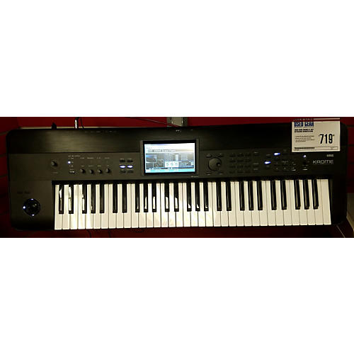 Korg Krome 61 Key Keyboard Workstation-thumbnail