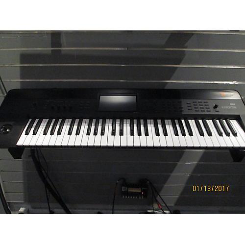 used korg krome 61 key keyboard workstation guitar center. Black Bedroom Furniture Sets. Home Design Ideas