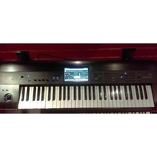 Used Korg Krome 61 Key Keyboard Workstation Guitar Center