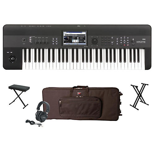 Korg Krome 61-Key Workstation Package 1-thumbnail