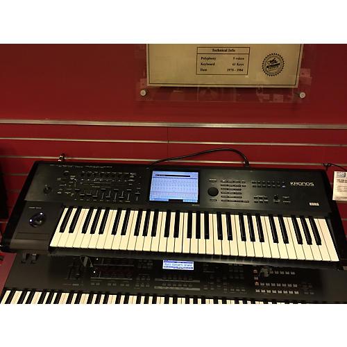 used korg kronos x61 61 key keyboard workstation guitar center. Black Bedroom Furniture Sets. Home Design Ideas