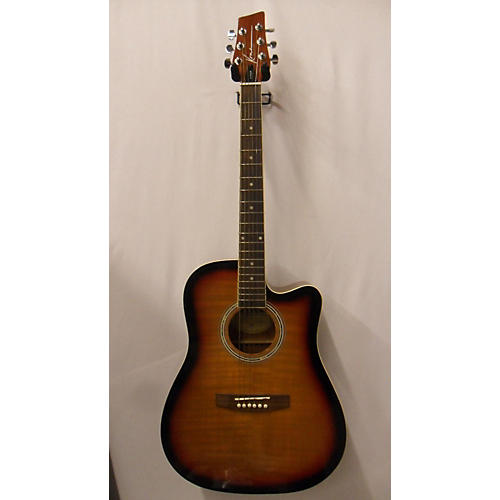 used kona ksp1cesb acoustic electric guitar 3 color sunburst guitar center. Black Bedroom Furniture Sets. Home Design Ideas