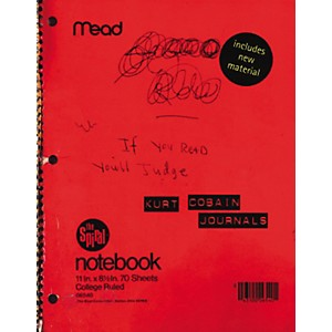 Alfred Kurt Cobain Journals Book by Alfred