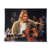 C&D Visionary Kurt Cobain Playing Sticker