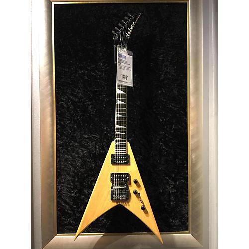 Jackson Kv1 Dave Mustaine Korina King V Solid Body Electric Guitar-thumbnail
