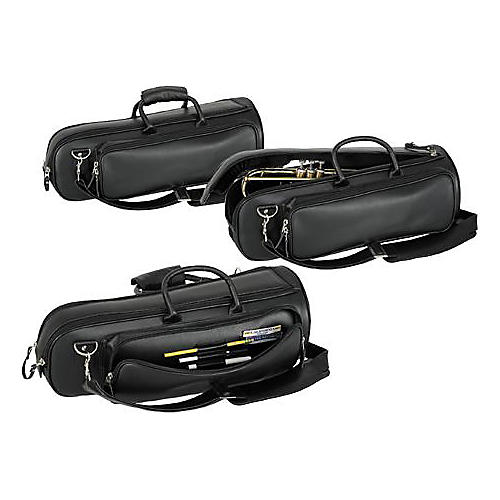 Protec L-238 Deluxe Leather Trumpet Bag-thumbnail
