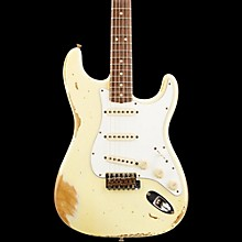 Fender Custom Shop L-Series 1964 Stratocaster Heavy Relic Electric Guitar Vintage White