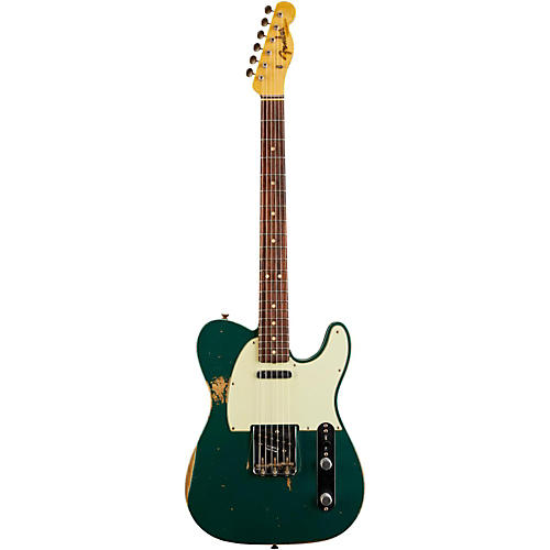 Fender Custom Shop L-Series 1964 Telecaster Heavy Relic Electric Guitar Sherwood Green Metallic