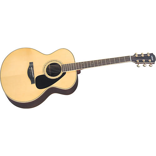 Yamaha L Series LJ16 Jumbo Acoustic Guitar with Case Natural