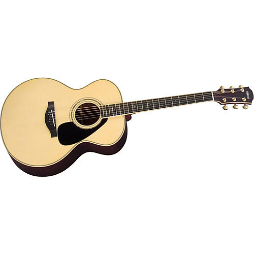 Yamaha L Series LJ6 Jumbo Acoustic Guitar with Case Natural