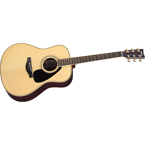 Yamaha L Series LL16 Dreadnought Acoustic Guitar with Case Natural